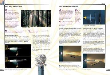 Der Weg des Lichtes Das Modell Lichtstrahl