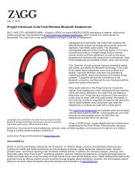 iFrogz® Introduces Coda Forte Wireless Bluetooth Headphones