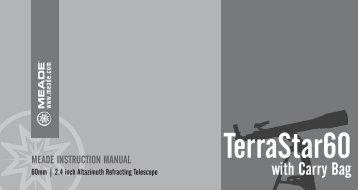 TerraStar 60 Manual - Meade