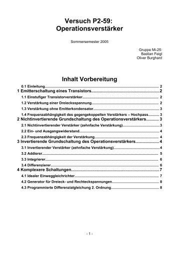 zehnfache Verstärkung - Bastian Feigl Software