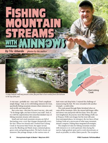 Fishing Mountain Streams with Minnows - Pennsylvania Fish and ...