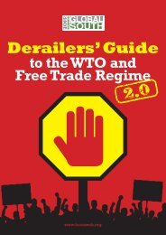 Derailers' Guide - Focus on the Global South