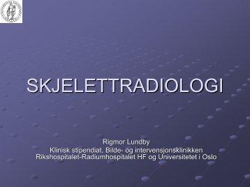 del 1 - Universitetet i Oslo