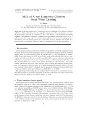 M/L of X-ray Luminous Clusters from Weak Lensing