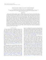 SHORT DYNAMIC FIBRILS IN SUNSPOT CHROMOSPHERES ...