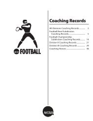 2013 Football Records Book - Coaching Records.indd - NCAA