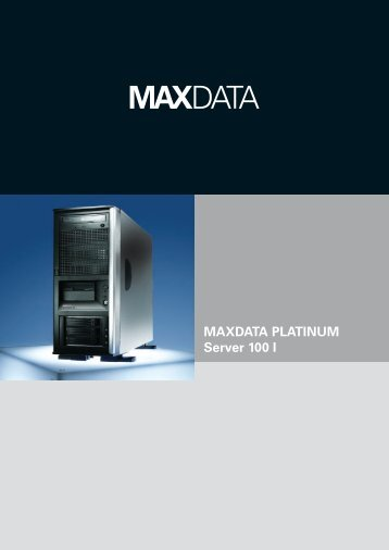 MAXDATA PLATINUM Server 100 I