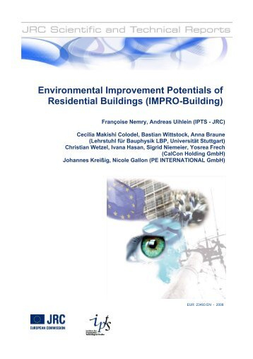 Environmental Improvement Potentials of Residential Buildings ...