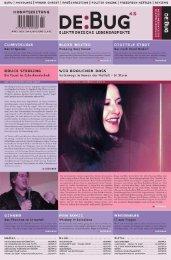 DE:BUG Magazine Issue 45 March 2001