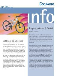 Software as a Service Prophete Gmbh & Co KG - bmd Gmbh