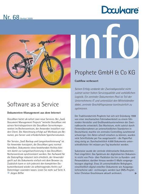 Software as a Service Prophete Gmbh & Co KG - bmd Gmbh
