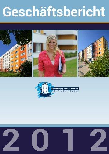Geschäftsbericht 2012 als PDF - Wohnungsgenossenschaft ...