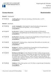 Zusmarshausen Baudenkmäler