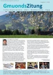 Zeitung 1/2013.pdf - Gemeinde Egg
