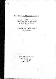 1956 Goto Optical Manual for 6