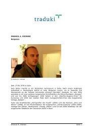 Emanuil A. Vidinski Seite 1 EMANUIL A. VIDINSKI ... - Traduki