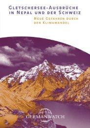 Gletschersee-Ausbrüche in Nepal und der Schweiz ... - Germanwatch