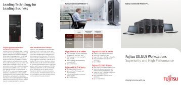 Fujitsu CELSIUS Workstations