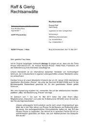 Abmahnung - Dr. Gottschalk - Rechtsanwälte | Wirtschaftsprüfer