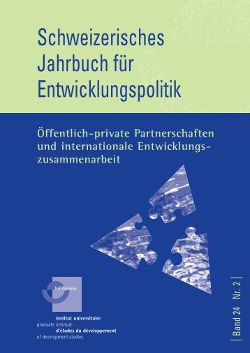 PPP – ein tragfähiges Konzept entwicklungspolitischer ...