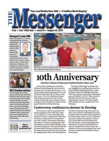 Download The Messenger – August 30, 2013 (pdf) - Granite Quill ...