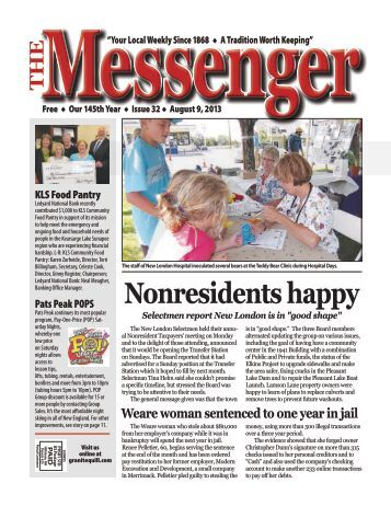 Download The Messenger – August 9, 2013 (pdf) - Granite Quill ...