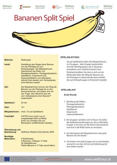 Bananen Spiele