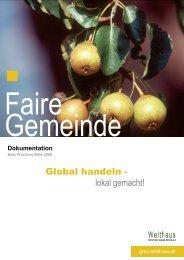 Faire Gemeinde - Welthaus Graz