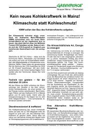 PDF-Publikation - Greenpeace Gruppen in Deutschland