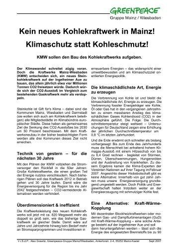 PDF-Publikation - Greenpeace Gruppen in Deutschland