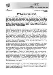 TV-L unterzeichnet