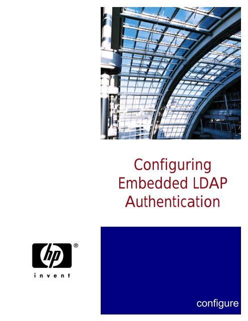 Configuring Embedded LDAP Authentication - FTP Directory Listing ...