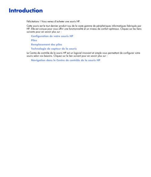 Guide de l'utilisateur - Hewlett-Packard