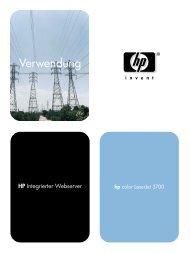 hp color LaserJet 3700 user guide - deww - Hewlett Packard