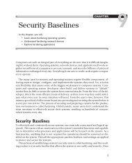 Chapter 9: Security Baselines - ITwelzel.biz