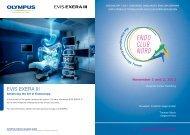 EVIS EXERA III - cocs | congress organisation c. schäfer