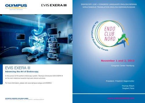 EVIS EXERA III - cocs | congress organisation c  schäfer
