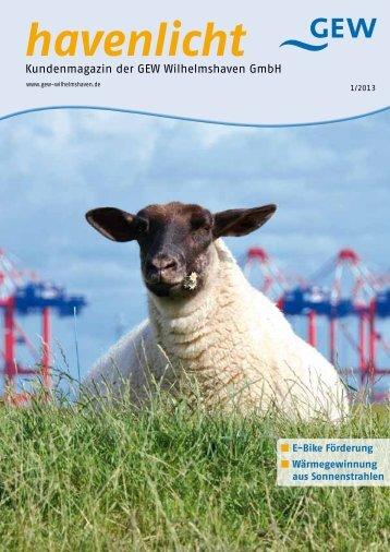 Ausgabe 01/2013 - GEW Wilhelmshaven GmbH