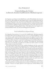 Unterscheidung der Geister im Bereich christlich ... - Hans Waldenfels