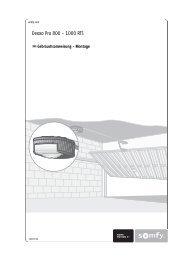 Bedienungsanleitung Dexxo Pro 800-1000 RTS komplett (pdf