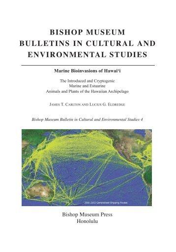 bishop museum bulletins in cultural and environmental studies