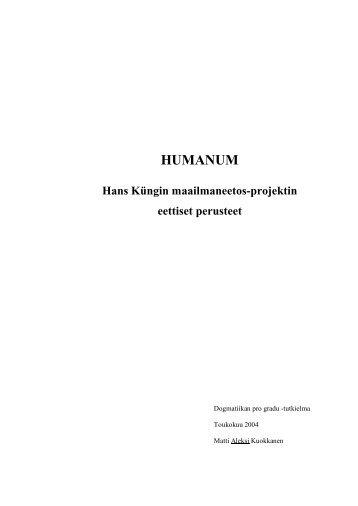 HUMANUM - Helda