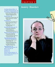 CHAPTER 5 Anxiety Disorders - Bad Request