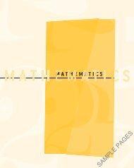 Mathematics sample chapter (4504.0K)