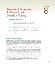 Behavioral Economics: A Closer Look at Decision ... - McGraw-Hill