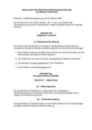 Friedhofs-und Bestattungssatzung - Holzkirchen