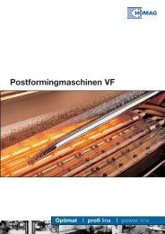 Postformingmaschinen VF - HOMAG Group