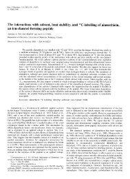 Eur. J. Biochem. 243, 283-291 (1997) - University of Manitoba