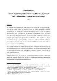 Findeisen, Hans: Institut für Eurasische Kulturforschung. (PDF)