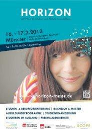 16.+ 17.2.2013 Münster   - Horizon